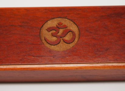Bubinga Pen Box - Yoga Ohm