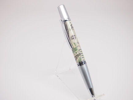 Ready-Made: Ballpoint, Elegant Beauty Style ~ Satin Chrome Finish (700)