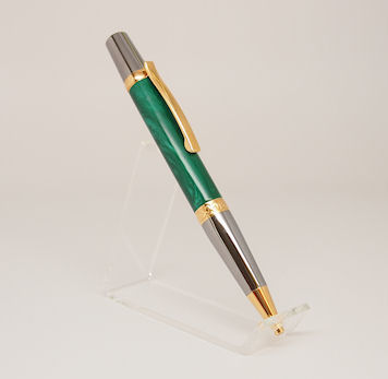 Ready-Made: Ballpoint, Sierra Style ~ Black & Gold Titanium Finish (706)