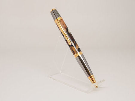 Ready-Made: Ballpoint, Sierra Style ~ Black & Gold Titanium (712)
