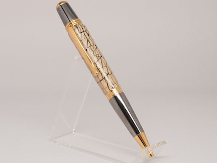 Ready-Made: Ballpoint, Sierra Style ~ Black & Gold Titanium (722)
