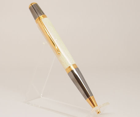 Ready-Made: Ballpoint, Sierra Style ~ Black & Gold Titanium Finish (726)