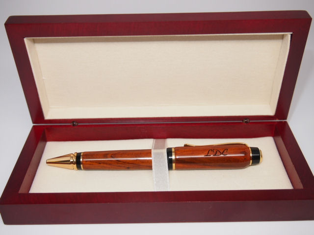 Cherry Wood Pen Box ~ without pen order: