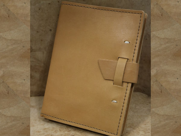 Rustico Journal: Leather Wasatch 5.5″ x 7.25″  ~ Buckskin